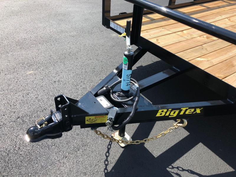 BIGTEX 2020 70PI 7' x 18 Tandem Axle Pipe Landscape / Utility Trailer