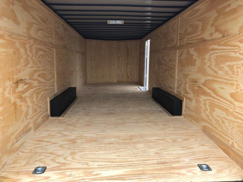 COVERED WAGON 2018 DEEP BLUE 8.5' x 24'  ENCLOSED CARGO TRAILER