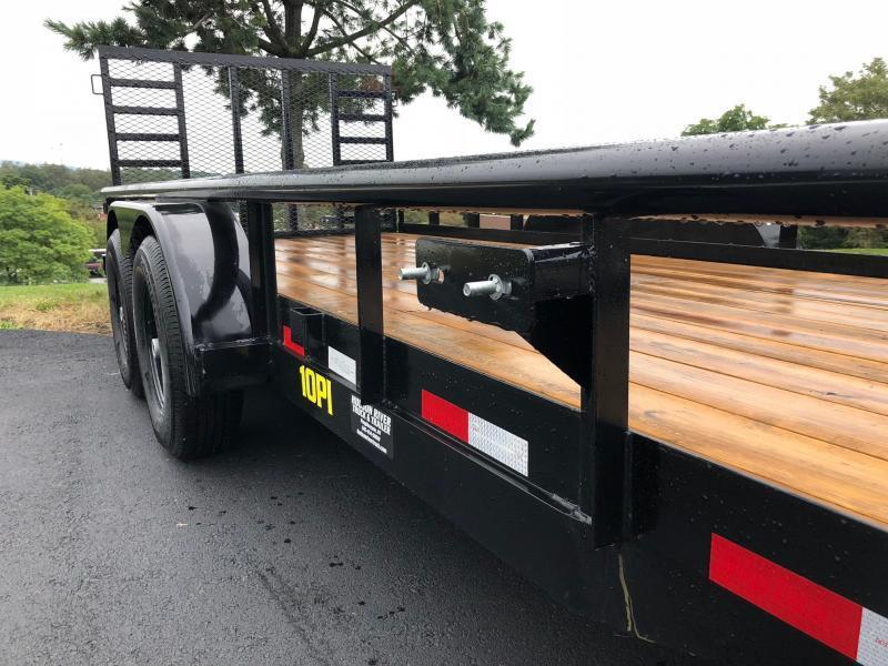 Big Tex 2019  7 x 20' Pro Series Tandem Axle Pipe Top Utility / Landscape Trailer