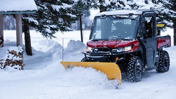 Fisher Trailblazer UTV Plow Snow Plow