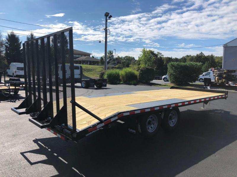CAM SUPERLINE 2019 8' X 18' LIGHT DUTY DECKOVER LANDSCAPE TRAILER