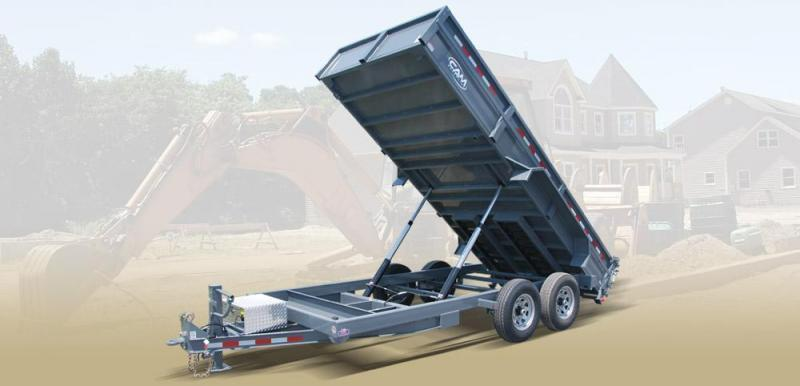 CAM 2019 7-TON 6 x 16 FT LOW PROFILE HEAVY DUTY DUMP TRAILER