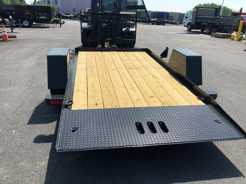 CAM 2020 3 TON  6' x 12' SINGLE AXLE TILT EQUIPMENT TRAILER