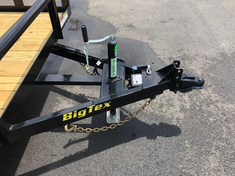 BIGTEX 2019 70PI 7' x 14' Tandem Axle Pipe LANDSCAPE / UTILITY TRAILER