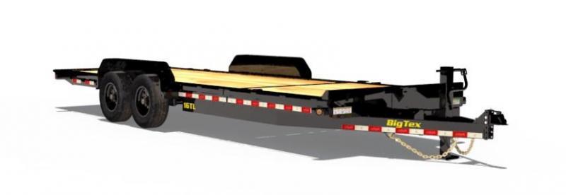 BIGTEX 2019 16TL 7' x 22' SUPER DUTY TILT BED EQUIPMENT TRAILER  17000 lb. GVW