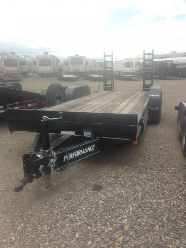 2015 Performance Trailers BC8220 Equipment Trailers