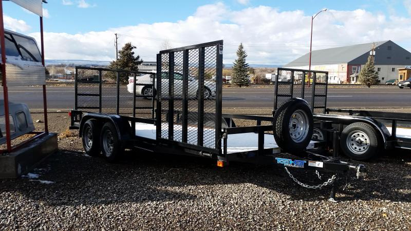 2017 Top Hat 16' Utility Trailer