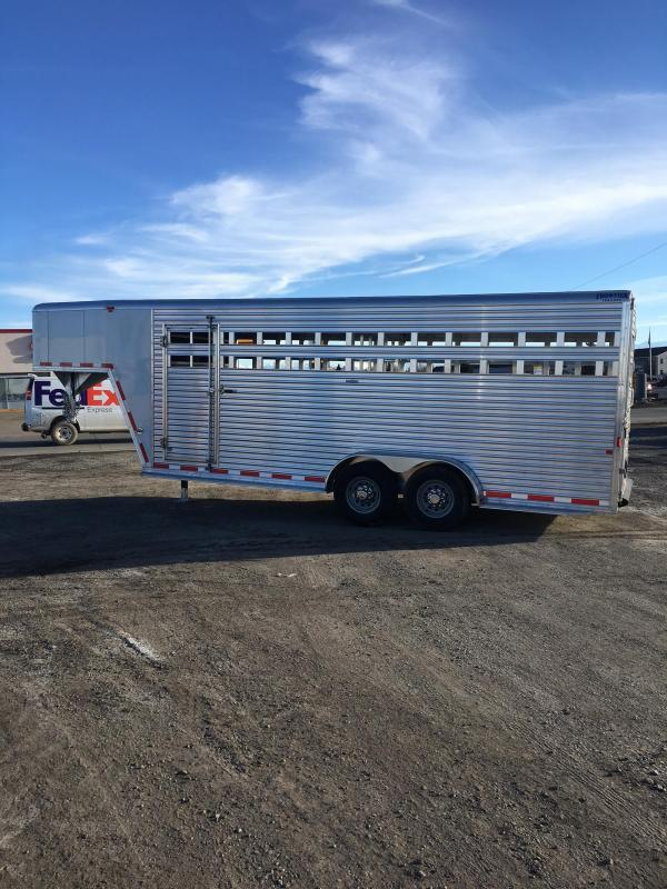 2016 Frontier Trailers Stock Trailer Horse Trailer
