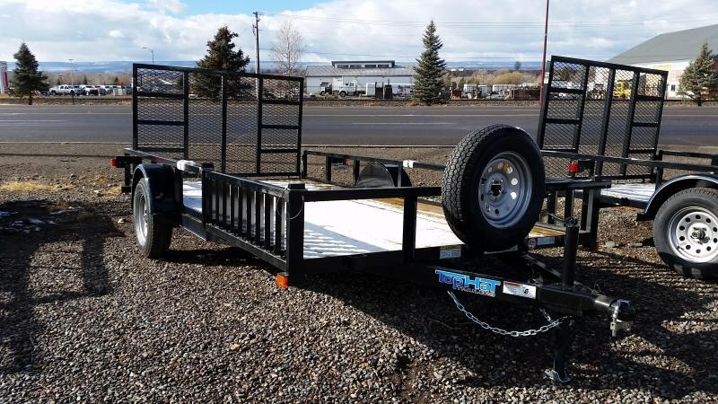 2018 Top Hat 14' Utility Trailer