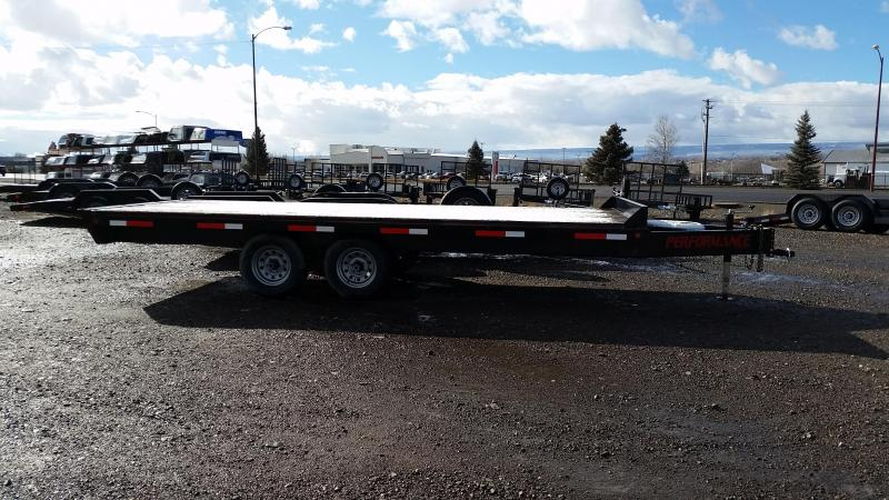 2016 Parker Trailers Deck-Over Equipment Trailer