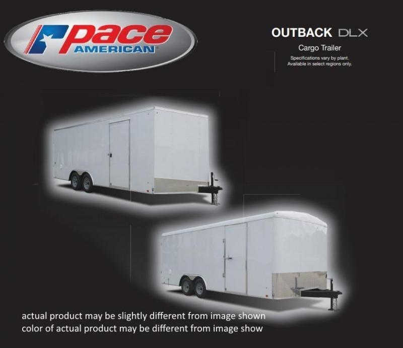 2018 Pace American 7 X 14 Outback DLX Cargo Trailer