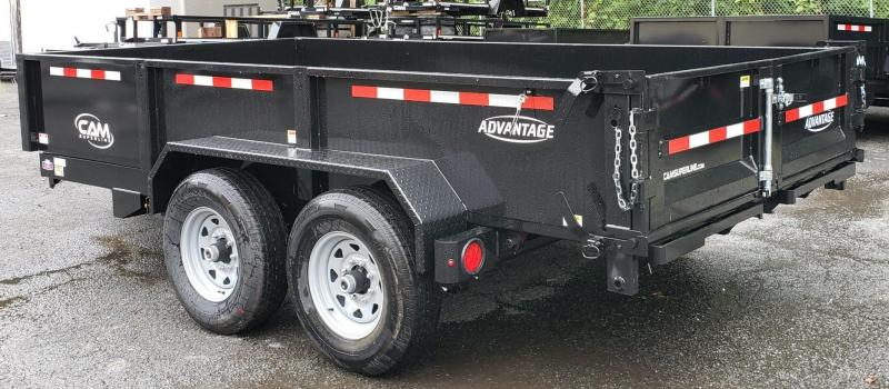 2019 Cam Superline 6.8 X 14 7 Ton Advantage HD Low Profile Dump Trailer