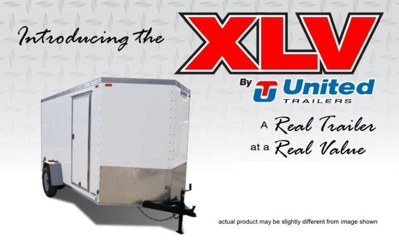 United Trailers 5 X 8 Cargo Trailer XLV