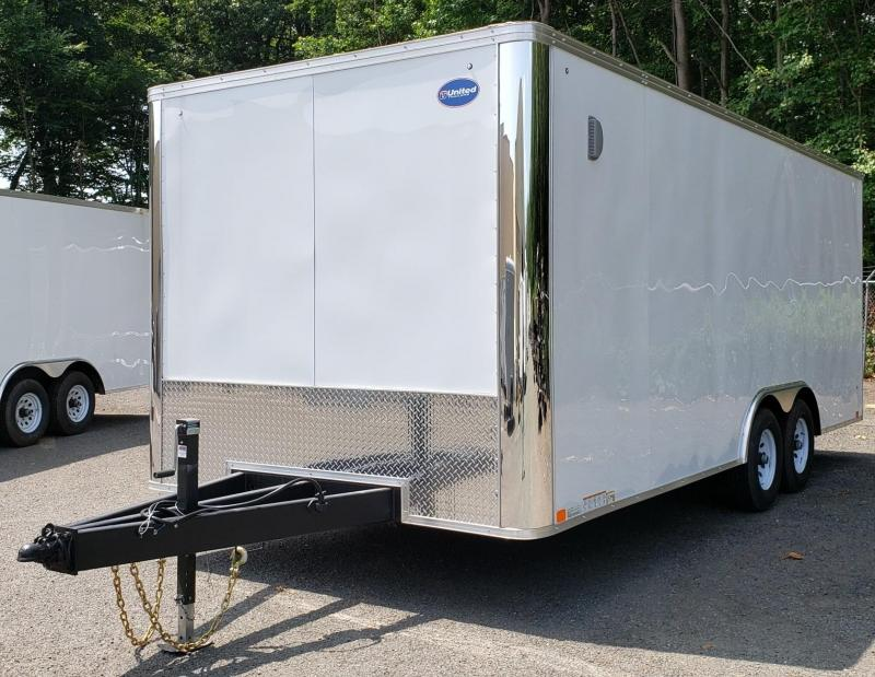 2019 United Trailers 8.5 X 20 Car Hauler XLT