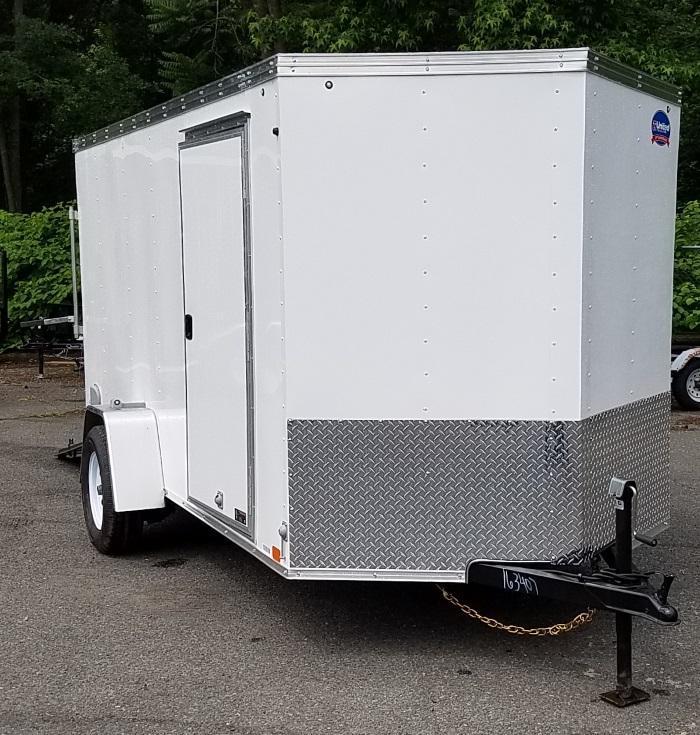 2018 United Trailers 6 X 12 Cargo Trailer XLV