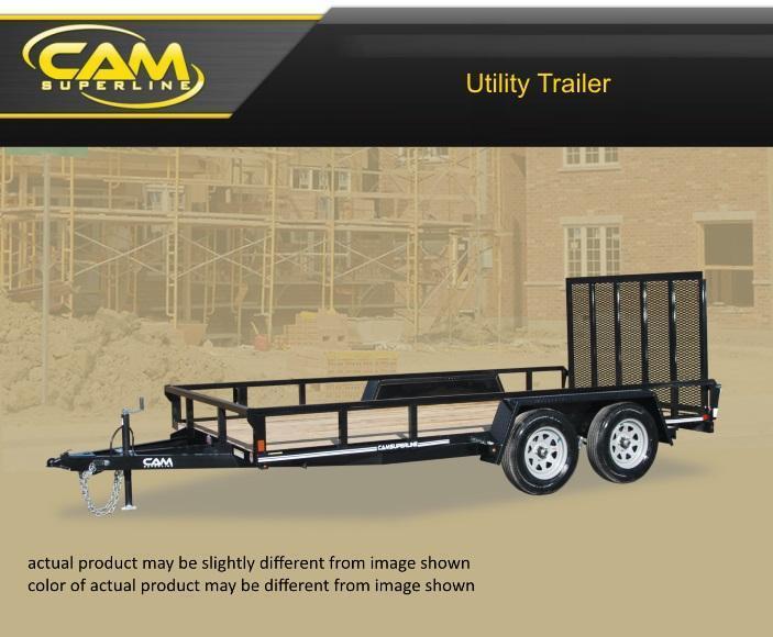 Cam Superline 7 X 16 Utility Trailer in Ashburn, VA