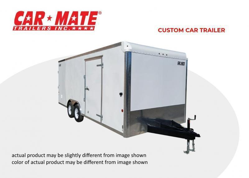 2019 Car Mate Trailers 8 X 16 Custom Car Trailer