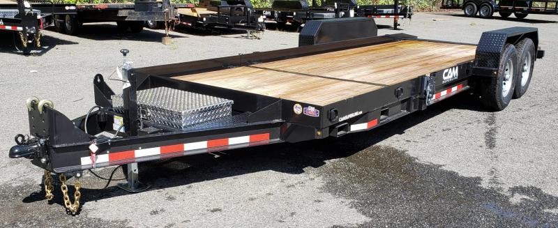 2019 Cam Superline 8.5 X 16 6 Ton Tilt Trailer Split Deck
