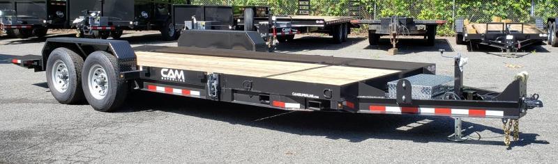 2019 Cam Superline 8.5 X 16 6 Ton Tilt Trailer Split Deck