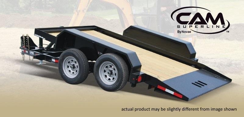Cam Superline 6 X 12 Tandem Axle 6x12 Tilt Trailer