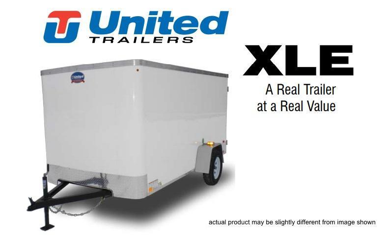 2019 United Trailers 5 X 8 Cargo Trailer XLE