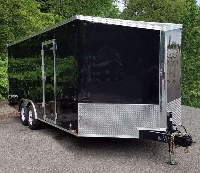 2019 United Trailers 8.5 X 23 Car Hauler XLTV