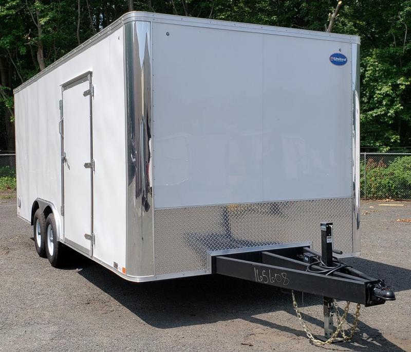 2019 United Trailers 8.5 X 20 Car Hauler XLT