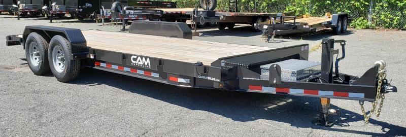 2018 Cam Superline 8.5 X 20  Channel Frame Equipment Trailer