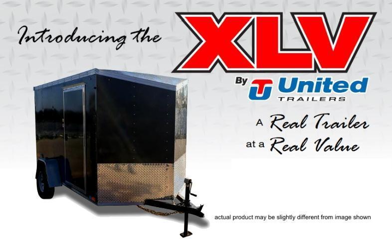 2018 United Trailers 5 X 8 Cargo Trailer