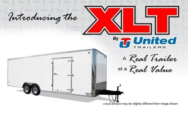 2019 United Trailers 8.5 X 18 Car Hauler XLT