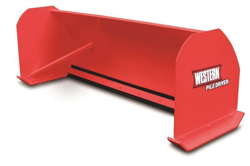 Western PILE DRIVER Skid Steer