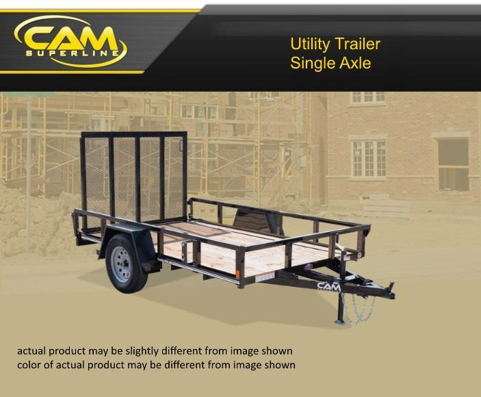 2019 Cam Superline 6 X 12 Utility Trailer