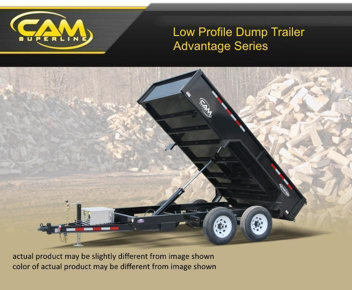 Cam Superline 6 X 12 Advantage Series Low Profile Dump Trailer in Ashburn, VA