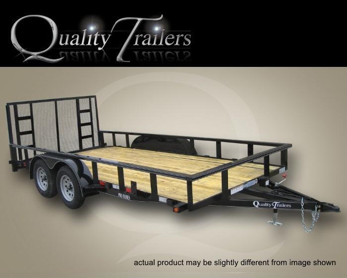 Quality Trailers 16 FT Pro Grade Landscape Trailler