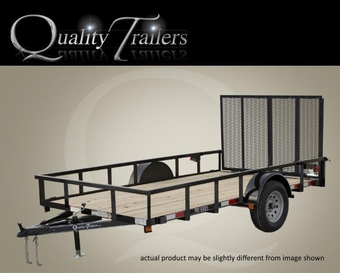 "Quality Trailers 8' X 60"" General Landscape Trailer"