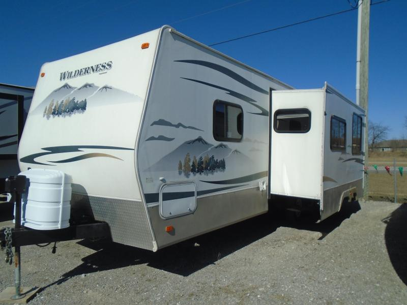 2008 Fleetwood WILDERNESS 270RBS Travel Trailer