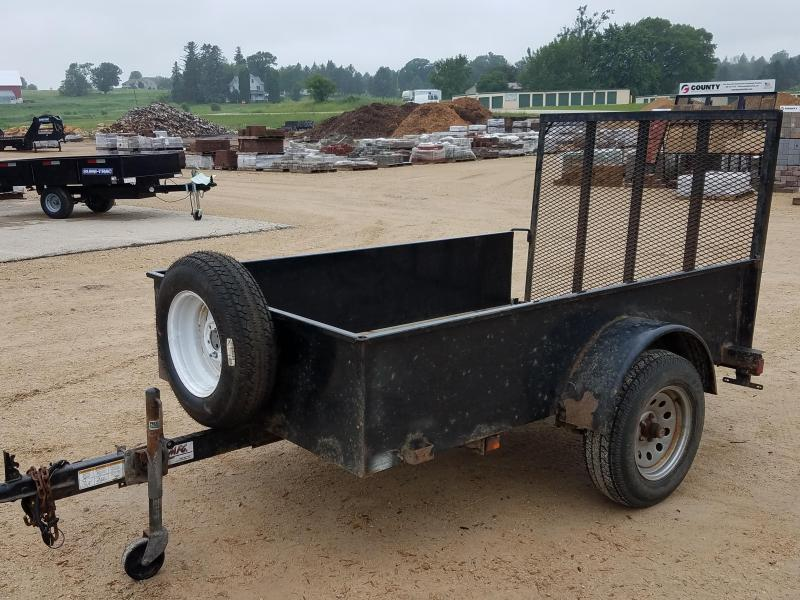 2009 Other Teske 5x8 3.5 Utility Trailer