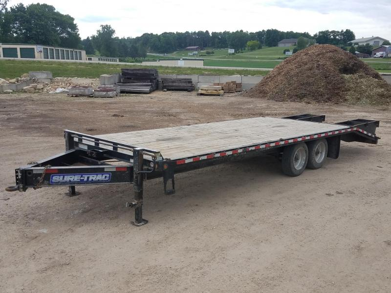 2015 Sure-Trac 8.5x25 16000lbs Equipment Trailer