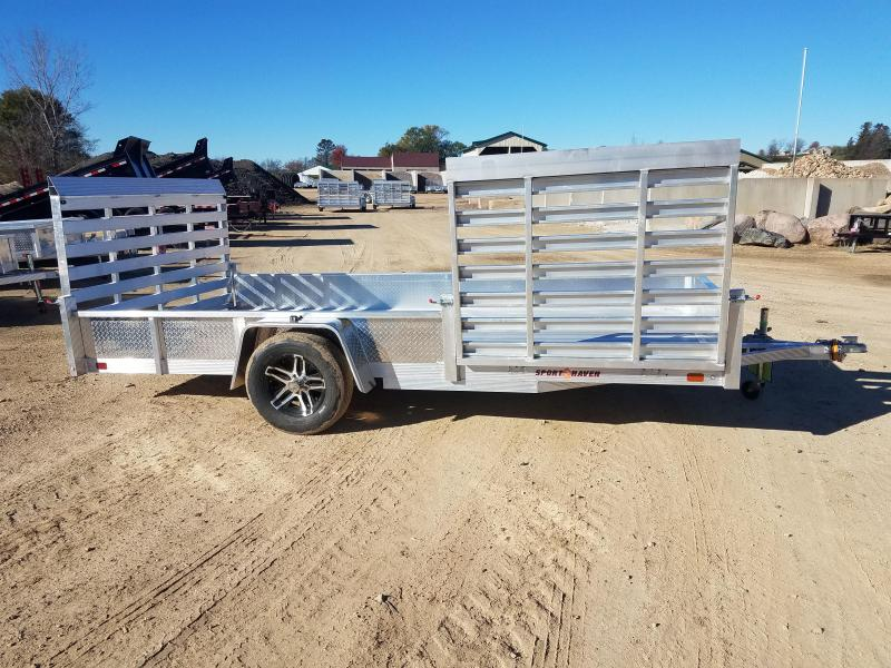 2019 Sport Haven AUT714D-S Utility Trailer on