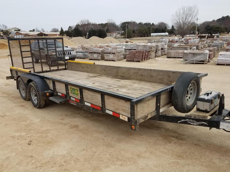 2015 Trailerman Trailers Inc. 7x18 7000lbs Utility Trailer
