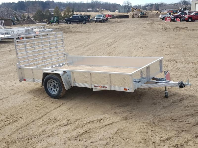 2018 Sport Haven 7X12 ATP Sides Utility Trailer