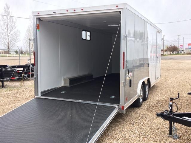 2017 Haulmark Aluminum 8 5 X 20 Enclosed Cargo Trailer