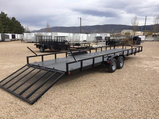 2017 ECHO 24 FOOT ATV Trailer METAL DECK