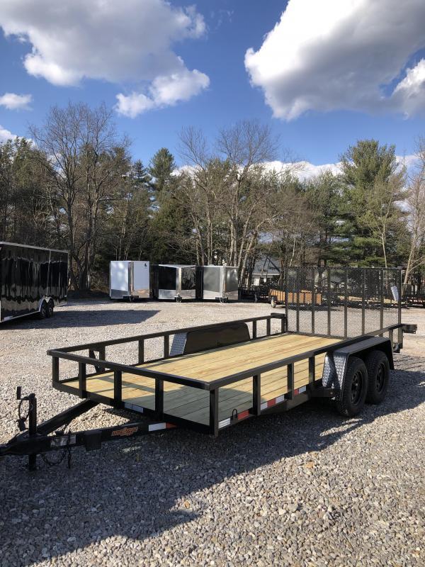 2019 Down 2 Earth Trailer 7x16 landscape trailer 7000gvwr  in NH