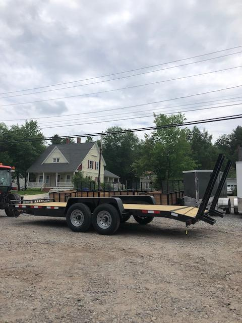2019 Down 2 Earth Trailer 7x20 Equipment Trailer 12k GVWR in NH