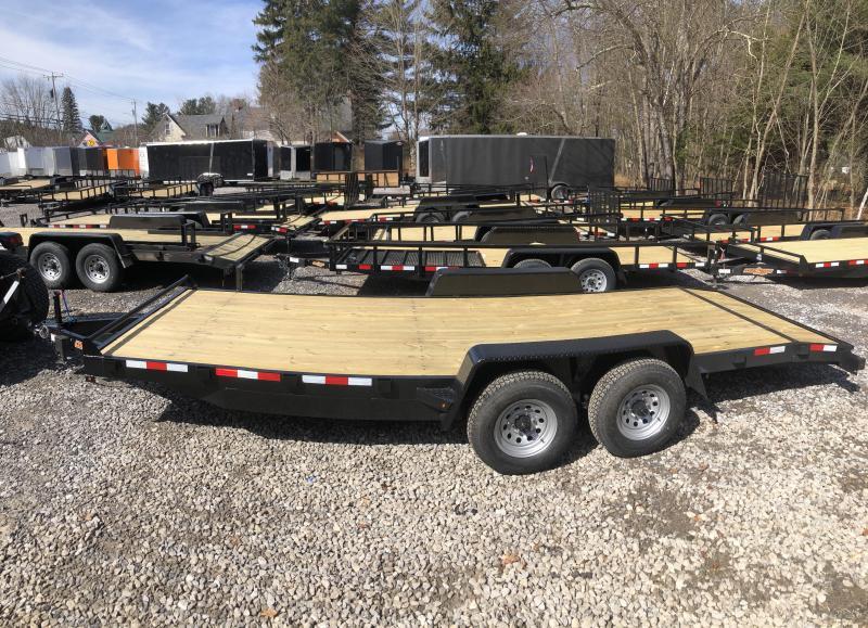 2019 D2E trailer 7x20 Car hauler 9990 gvwr/w. dexter axles in Ashburn, VA