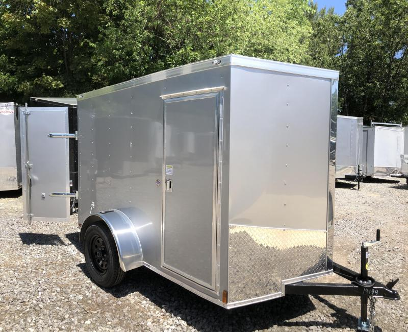 2019 Spartan 5x8 2ft v-nose Enclosed Trailer/double door in NH