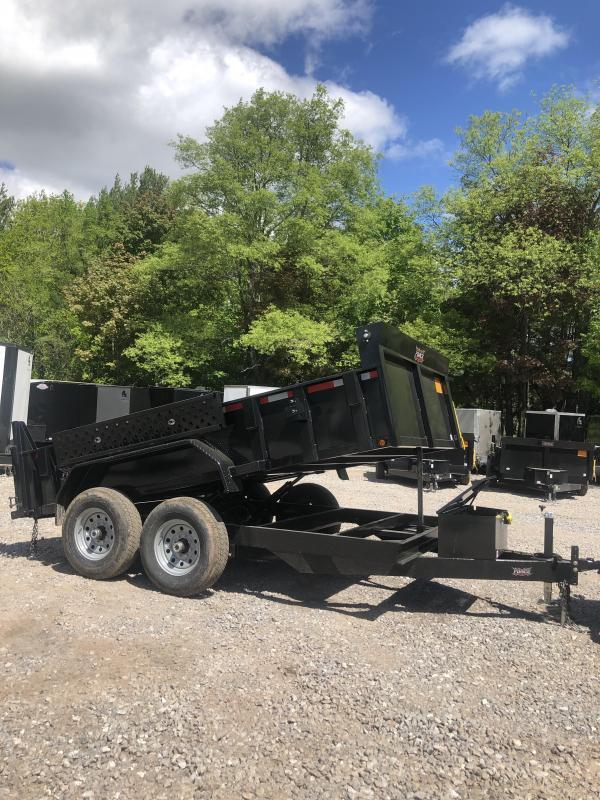 New Force dump trailer 7x12 12k gvwr-Fully Loaded-ON SALE in NH
