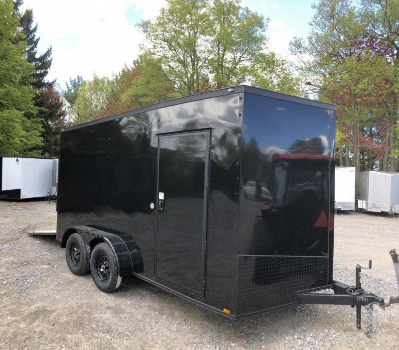 2019 Spartan 7X14 +2ft V trailer Blackout /extra height in NH