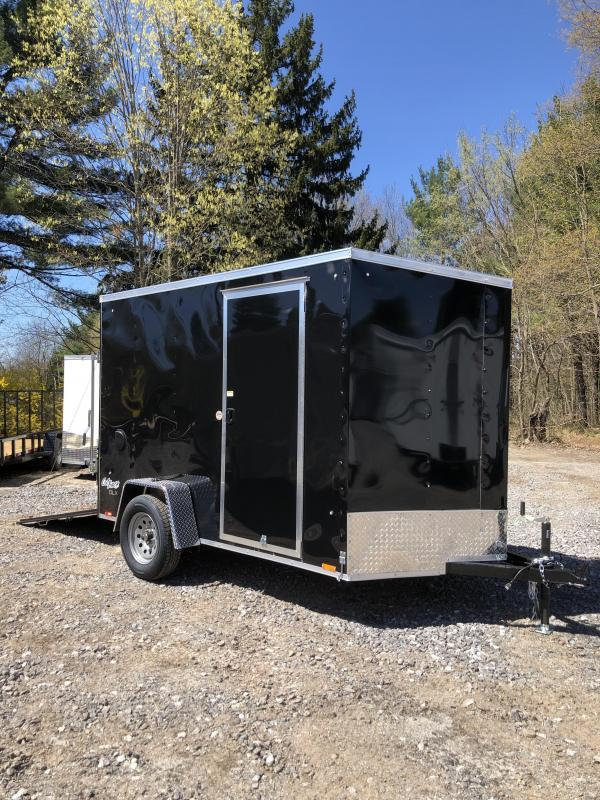 """2020 Pace 6x10 +2ft V-nose trailer/6"""" extra height scratch/dent sale"""